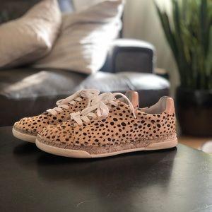 Dolce Vita Madox Sneaker - Leopard Calf Hair